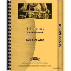 Case 420 Crawler Service Manual (SN# 3008188-3012300)