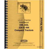 Case 220 Lawn & Garden Tractor Parts Manual (SN# 9734870-14035005)