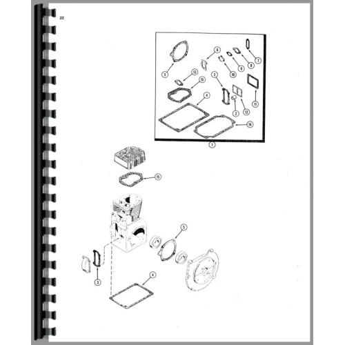case 220 garden tractor manual