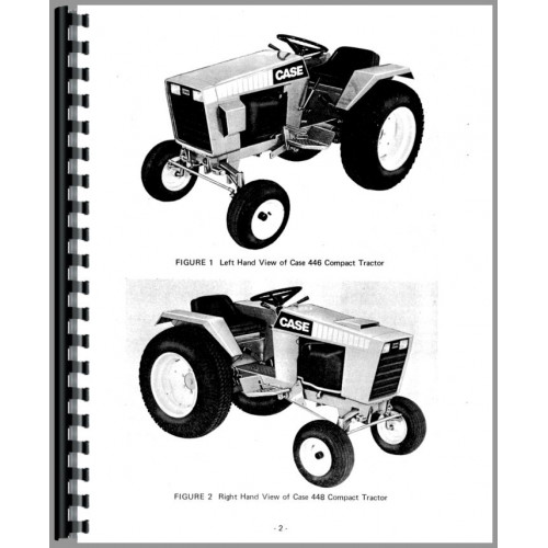 case 446 garden tractor service manual how to troubleshooting rh samnet co