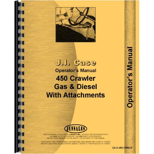 case 450 crawler operators manual rh jensales com Case 450 Track Loader Parts case 450 skid steer service manual