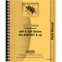 Case 530 Tractor Parts Manual (SN# 8297801 and Up) (8297801+)