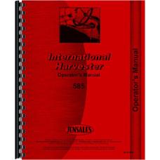 International Harvester 585 Tractor Operators Manual