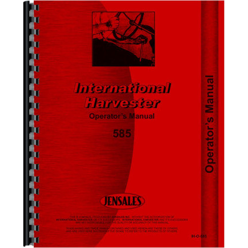 Case 585 Tractor Operators Manual  Case International Wiring Diagram on