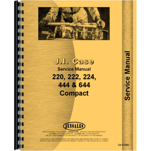 case 222 lawn garden tractor service manual sn 9736998 and up rh jensales com