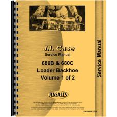 Case 680C Tractor Loader Backhoe Service Manual