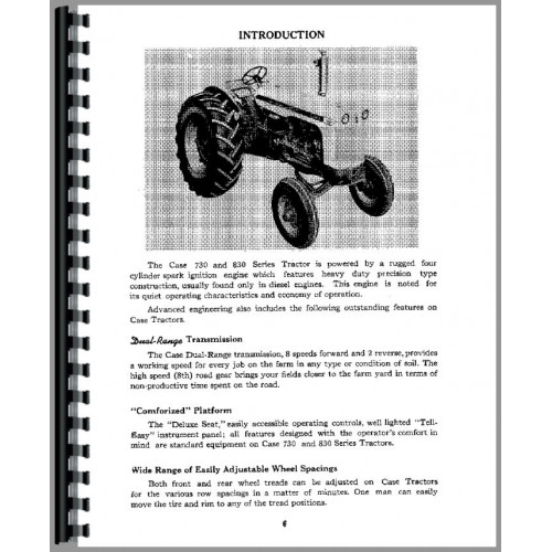 case case 830 tractor operators manual case tractor wiring diagram on 830  case tractor engine,