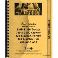 Case 310C Tractor Loader Backhoe Service Manual