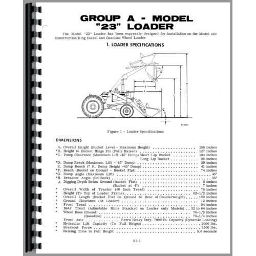 case 310 tractor loader backhoe service manual w loaderand or backhoe rh jensales com Case 430 Tractor Wiring Diagram Case 300 Tractor Wiring Diagram