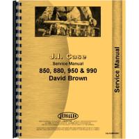 Case 880 Tractor Service Manual