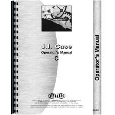Case C Tractor Operators Manual