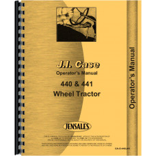 Case 441 Tractor Operators Manual (Wheel Tractor)