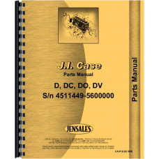 Case DO Tractor Parts Manual (SN# 4511449-5600000) (w/o Eagle Hitch)