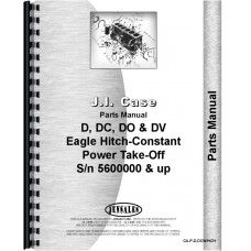 Case DC4 Tractor Parts Manual (SN# 5600000 and Up)