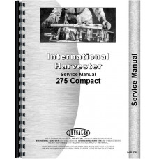 International Harvester 275 Tractor Service Manual