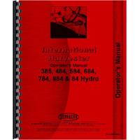 International Harvester 684 Tractor Operators Manual (1977-1984)