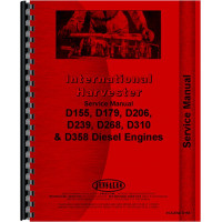 International Harvester 674 Tractor Engine Service Manual (1973-1977)