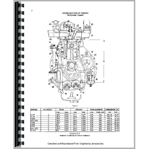 international harvester 484 tractor engine service manual 1977 1984 rh jensales com Chevy 454 Vacuum Diagram Chevy 454 Vacuum Diagram
