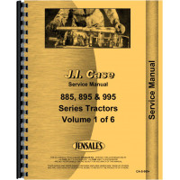 Case-IH 885 Tractor Service Manual (1986 and UP)