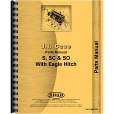 Case S Tractor Parts Manual (All SN#s) (All SN#)