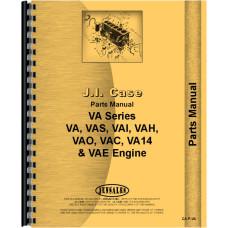 Case VAH Tractor Parts Manual