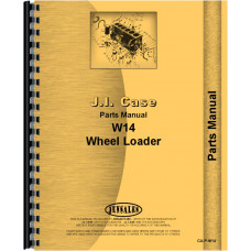 Case W14FL Forklift Parts Manual (SN# 9119672 and Up)