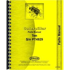 Russell 10 Grader Parts Manual (SN# PT1-PT4929)