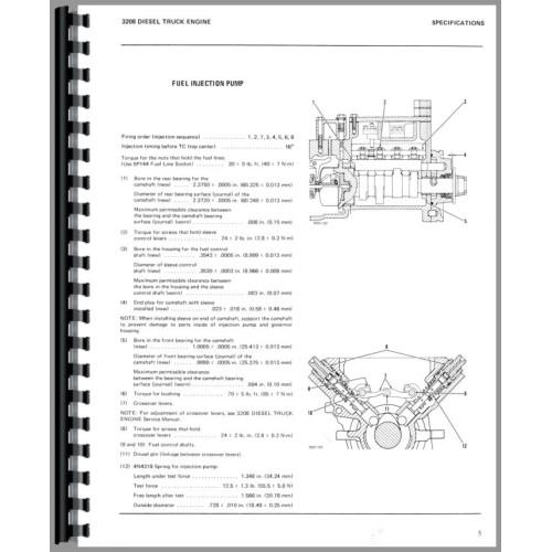 3208 caterpillar service manual caterpillar 3208 operation and maintenance manual
