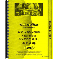 Caterpillar 3304 Engine Service Manual (SN# 37Y1 and Up) (37Y1+)