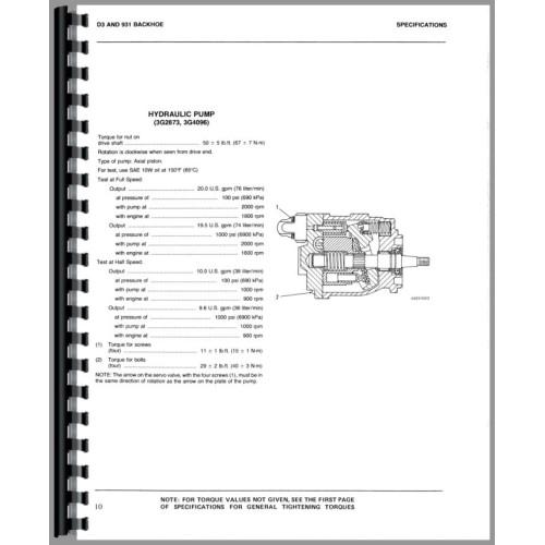 caterpillar 931 traxcavator service manual sn 10n1 and up 78u1 rh jensales com