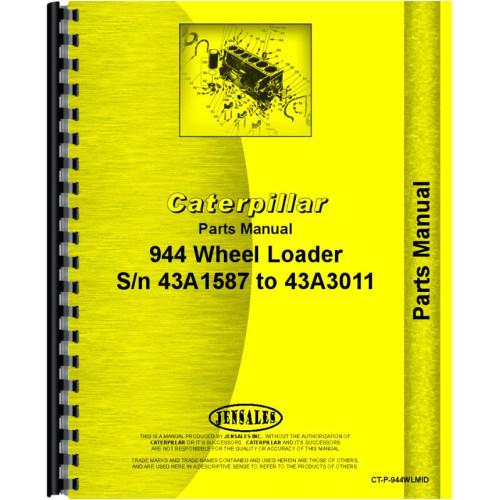 Caterpillar 944 Wheel Loader Traxcavator Service Repair Manual s//n 58A1+