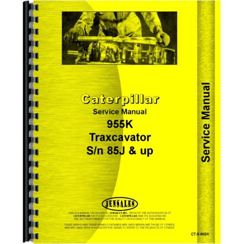 Caterpillar 955K Traxcavator Service Manual (SN# 85J)