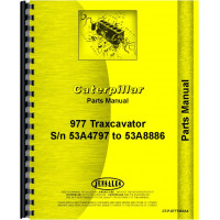 Image of Caterpillar 977 Traxcavator Parts Manual (SN# 53A4797-53A8886)