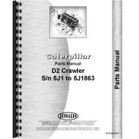 Image of Caterpillar D2 Crawler Parts Manual (SN# 5J1-5J1863) (5J1-5J1863)