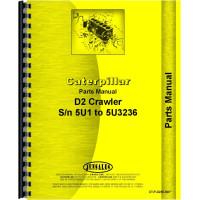 Caterpillar D2 Crawler Parts Manual (SN# 5U1-5U13236) (5U1-5U13236)