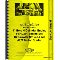 Caterpillar 212 Grader Engine Service Manual (SN# 9T1 and Up) (9T1+)