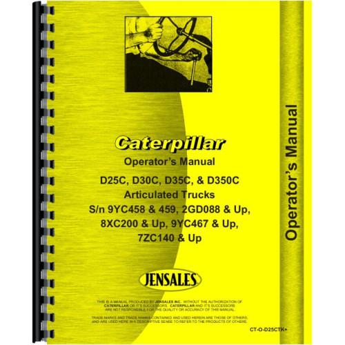 Cat Th103 Operator Manual