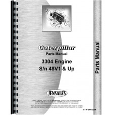 Caterpillar 951C Traxcavator Engine Parts Manual (SN# 69H2520and up)