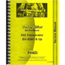 Caterpillar D5 Crawler 153 Hydraulic Control Attachment Service Manual (SN# 38G, 39G, 44G)