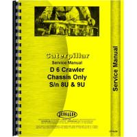 Caterpillar D6 Crawler Service Manual (SN# 8U, SN# 9U1 and Up) (Late)