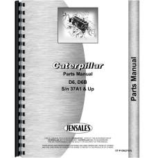 Caterpillar D6 Crawler Operators Manual (SN# 37A1 and Up) (37A1+)
