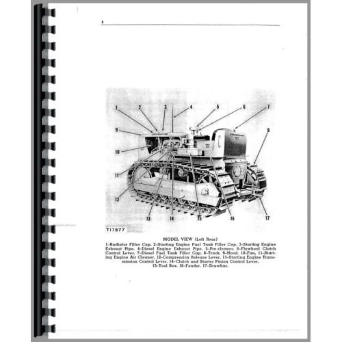 Caterpillar D7 Crawler Operators Manual (SN# 17A and Up) (17A+)