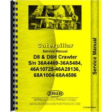 Caterpillar D8H Crawler Service Manual (SN# 36A4469-36A5484, 46A10725-46A28136, 68A1004-68A4586)