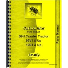 Caterpillar D9H Crawler Parts Manual (SN# 99V1 and Up)