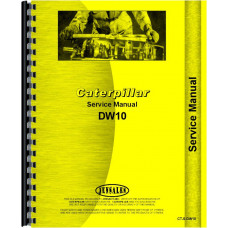 Image of Caterpillar DW10 Tractor Service Manual