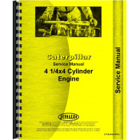 Caterpillar D4 Crawler Engine Service Manual (SN# 2T1 and Up, 4G1 and Up, 5T1 and Up, 7J1 and Up)