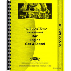 Caterpillar D342 Engine Service Manual (SN# 31B1-31B3984, 32B1-32B2268, 49B1-49B1090, 50B1-50B1024)