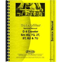 Caterpillar D4 Crawler Service Manual (1938-57) (Chassis)