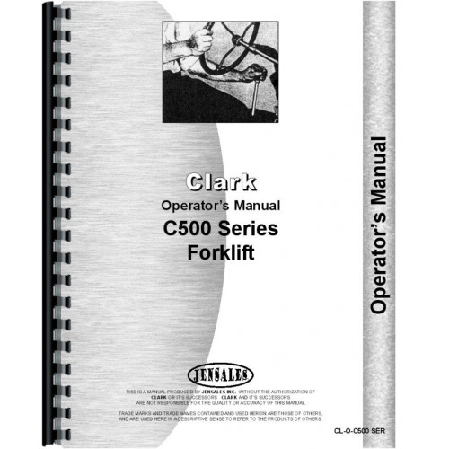 Clark c500 60 forklift operators manual fandeluxe Gallery