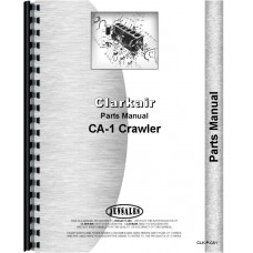 Clarkair CA-1 Crawler Parts Manual